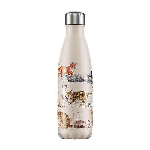 Chilly's Bottle Chilly's Bottle 500ml Cats Emma Bridgewater