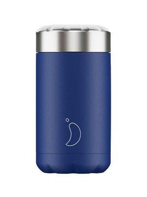 Chilly's Bottle Food pot / lunchbox 500ml Matte Blue