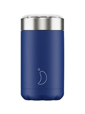 Chilly's Food pot / lunchbox 500ml Matte Blue