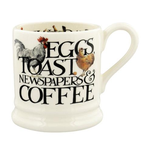 Emma Bridgewater 0.5 pt Mug Rise & Shine Eggs & Toast