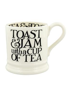 Emma Bridgewater 0.5 pt Mug Black Toast Toast & Jam
