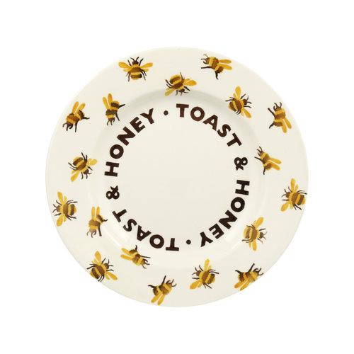 Emma Bridgewater 8.5 Plate Bumblebee Toast & Honey