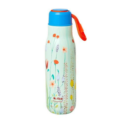 Rice RVS Thermosfles 500ml Summer Flowers