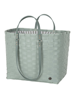 Handed By Shopper Go! Leisure bag L fat strap Greyish Green