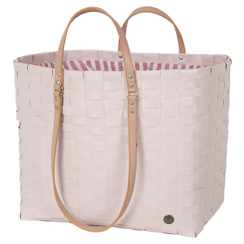 Handed By Shopper Go! Leisure bag L fat strap Nude