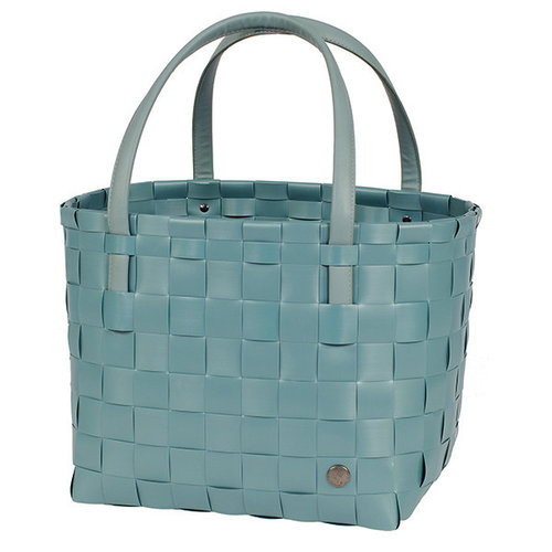 Handed By Shopper Color Match Teal Blue