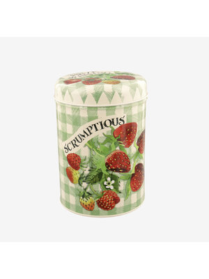 Emma Bridgewater Caddy blik Strawberries Green Check