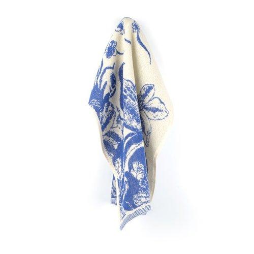 Bunzlau Castle Keuken handdoek Delfts Blue Bird Royal Blue