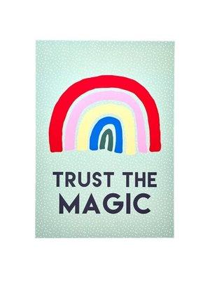 Rice Poster A3 Rainbow TRUST THE MAGIC