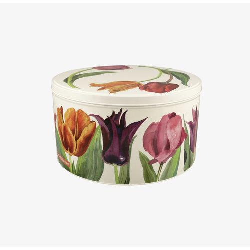 Emma Bridgewater Cake blik M Flowers - Tulips