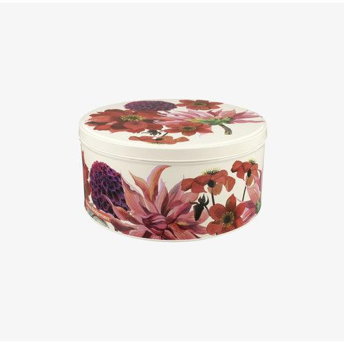 Emma Bridgewater Cake blik S Flowers - Dahlias