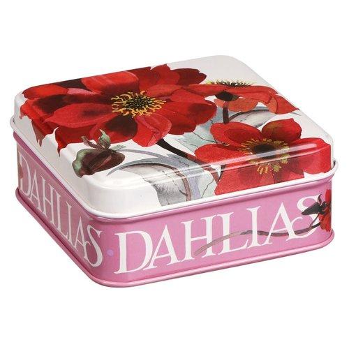 Emma Bridgewater Pocket blik Flowers - Dahlias
