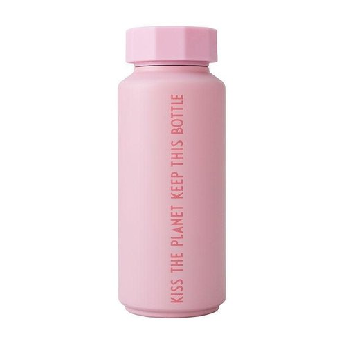 Design Letters Thermosfles 500ml Tone on tone Pink Kiss