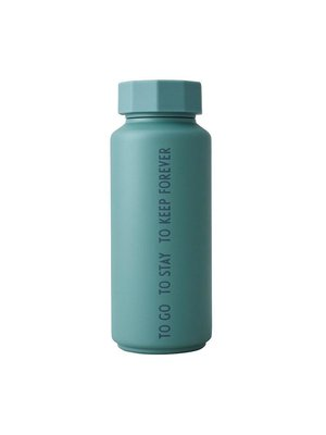 Design Letters Thermosfles 500ml Tone on tone Green To Go