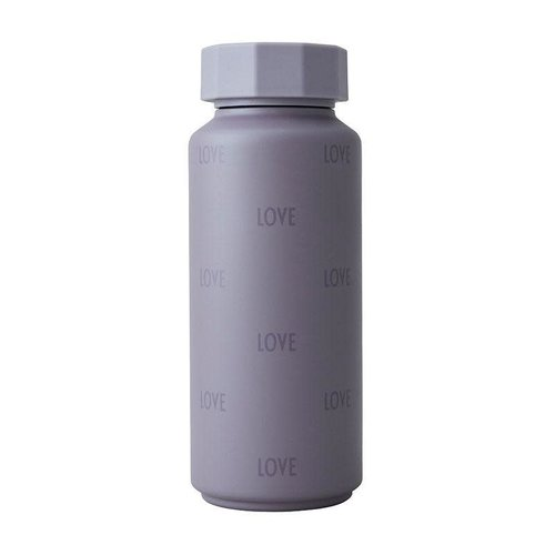 Design Letters Thermosfles 500ml Tone on tone Purple Love