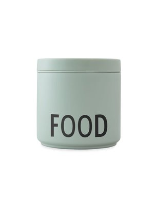 Design Letters Thermos Lunchbox 530ml Green Food