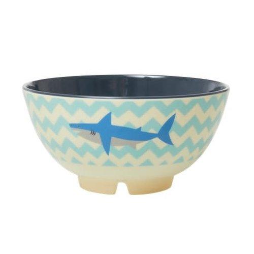 Rice Melamine kom Shark / Haai
