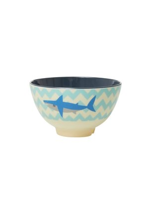 Rice Melamine kom small Shark / Haai