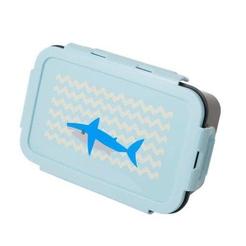 Rice Lunchbox met 3 inserts Shark