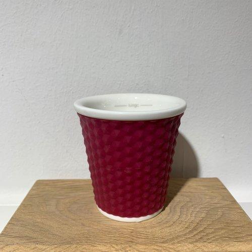 Les Artistes Espresso Mok Honeycomb 10cl Aubergine
