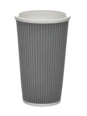 Les Artistes Koffie mok 45cl Donker Grijs