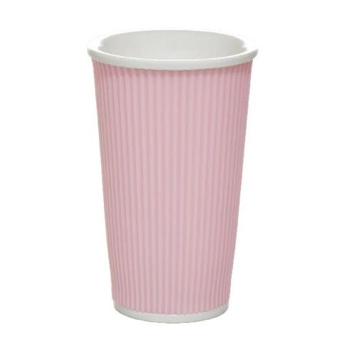Les Artistes Koffie mok 45cl Pastel Pink