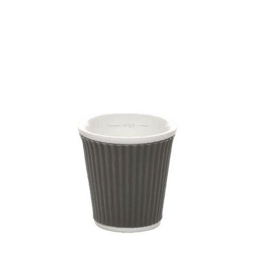 Les Artistes Espresso Mok 10cl Dark Grey