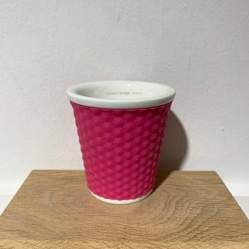 Les Artistes Espresso Mok Honeycomb 10cl Pink