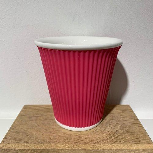 Les Artistes Koffie mok 18cl Pink