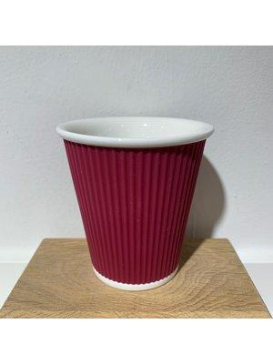 Les Artistes Koffie mok 18cl Aubergine