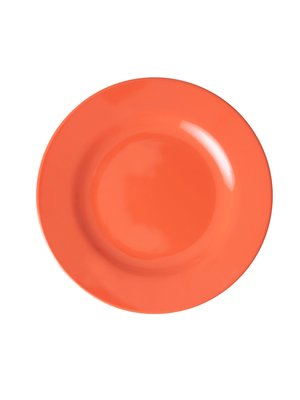 Rice Melamine lunch bord Disco Ball - orange