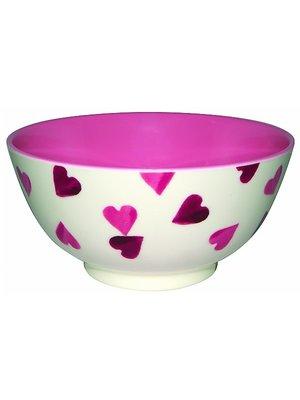 Emma Bridgewater Melamine kom Pink Hearts