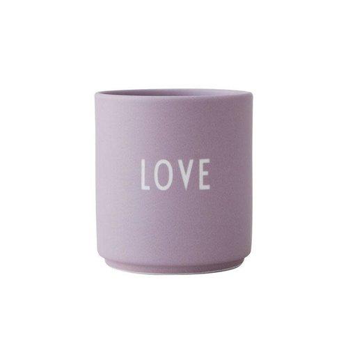 Design Letters Mok Favourite Love - lavendel