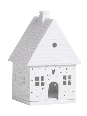 Räder Licht huis Gingerbread huis Sneeuwbal