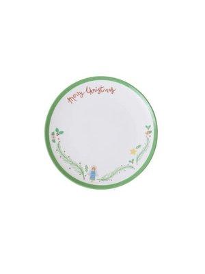 Rice Melamine dessert bord Xmas Angel