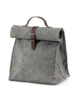 Uashmama Paper Lunchbag dark grey