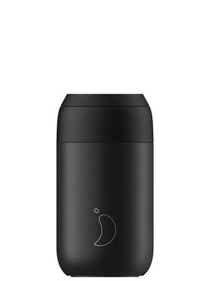 Chilly's Chilly's Series 2 Coffee Cup 340ml Abyss Black