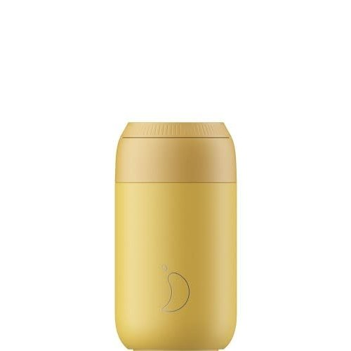 Chilly's Copy of Chillys Series 2 Coffee Cup 340ml Peach Orange