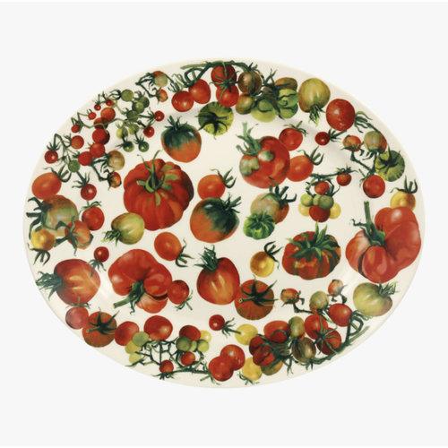 Emma Bridgewater Oval Platter medium Tomatoes