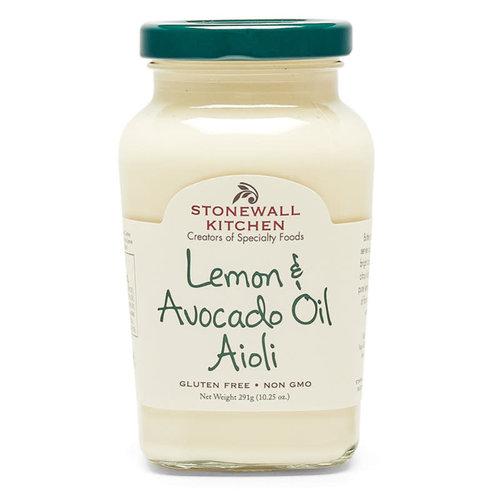 Stonewall Kitchen Lemon & Avocado oil Aioli 303ml