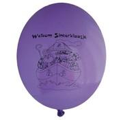 PartyXplosion Ballonnen welkom sinterklaas multi color 10 stuks 23 cm