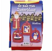 Joni's Winkel Cadeau zak Sinterklaas 60x90 cm 3 stuks