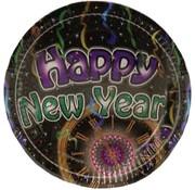 Folat Borden Happy new year 6 stuks