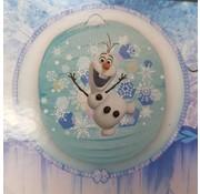 Lampion Frozen Olaf 25 cm