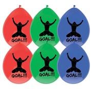 Haza Original ballonnen goal!!! 6 stuks 30 cm