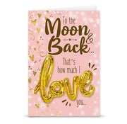 """Miko Love ballon """"Moon & Back"""""""