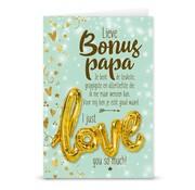 """Miko Love ballon """"Bonus Papa"""""""