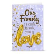 """Miko Love ballon """"Our family"""""""