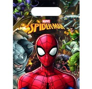 Marvel Feestzakjes Marvel's Spiderman Team up  6 stuks
