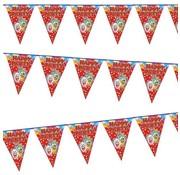 Joni's Winkel Vlaggenlijn Happy Party (rood) 3 meter